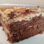 Шоколадова бисквитена торта с Маскарпоне